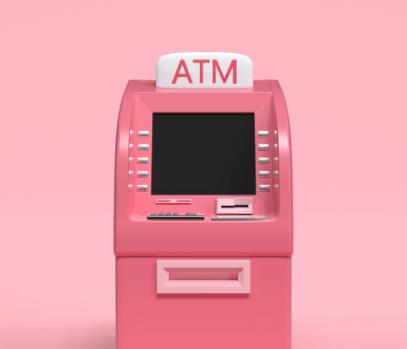 pink atm